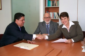 Zambrano presentó Ley de Amnistía a rectora de la UCV
