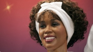 Whitney Houston está en el museo de cera de Washington (Foto)