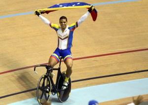 Hersony Canelón obtuvo el oro en el Panamericano de Ciclismo de pista