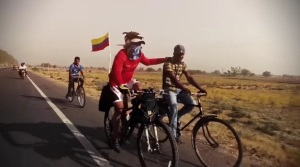Venezolano recorre 1.500 Kms en India en bicicleta (motivador video + fotos)
