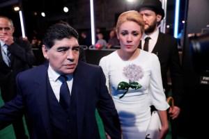 """La última exnovia de Maradona se aferra a los recuerdos """"lindos"""": Me amó mucho"""