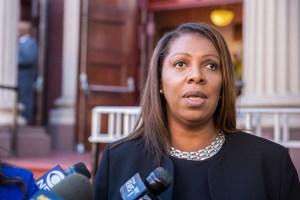 Fiscal general de Nueva York demandó a la Policía por su respuesta durante las protestas