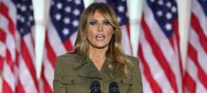 Las llamativas palabras de Melania Trump al despedirse de la Casa Blanca
