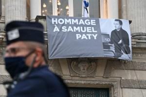 Otros cuatro escolares imputados por el asesinato del profesor Samuel Paty