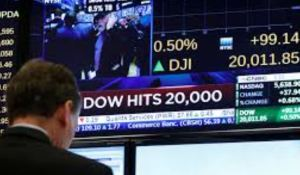 Dow Jones supera la cota de 30.000 puntos por primera vez en Wall Street