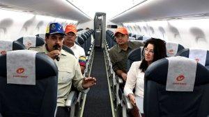 Maduro pretendía repatriar a venezolanos desde Trinidad y Tobago con un avión sancionado por EEUU