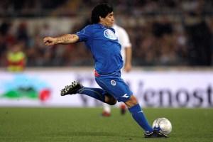 Maradona, el arte en los pies