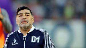 ¿Borracho y que más? El vergonzoso momento de Maradona en el mundial Rusia 2018 (VIDEO)