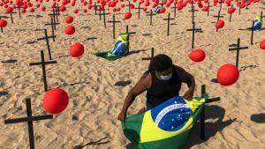 Brasil supera las 250.000 muertes por Covid-19