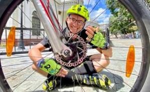 José Vicari explicó los beneficios del ciclismo para los adultos