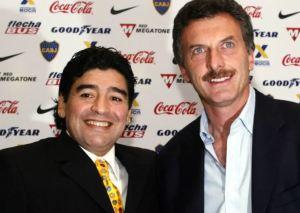 """""""Imborrables las alegrías que nos diste"""": La despedida de Mauricio Macri a Maradona"""