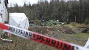 Una cámara capta el momento en que un caníbal entierra los restos de su víctima en Alemania