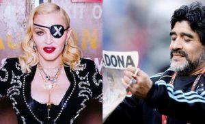 ¿Por culpa de la dislexia? Madonna se hace tendencia en redes tras la muerte de Maradona