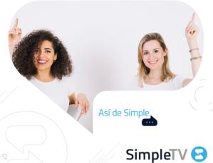 SimpleTV anunció recargas por Zelle o tarjetas internacionales
