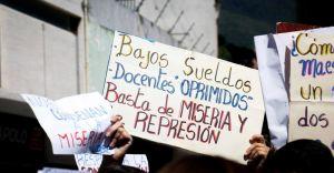 Coordinación de Educación UNT Carabobo: No estamos pidiendo limosna, exigimos un salario digno que es derecho humano