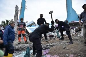 Al menos 34 muertos y más de 600 heridos tras terremoto de 6,2 en Indonesia