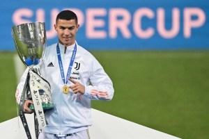 Cristiano Ronaldo, otra vez decisivo, le dio el primer título a Pirlo en la Juventus