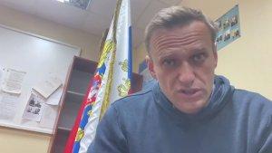 Desde prisión, Navalny llamó a los rusos a protestar contra Putin