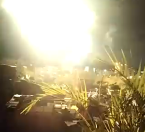 Reportan explosiones en varias zonas del centro de Caracas la madrugada de este #15Ene