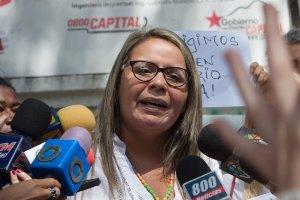 Gricelda Sánchez: Aristóbulo Istúriz es el gran traidor de la educación en Venezuela pero vamos a luchar