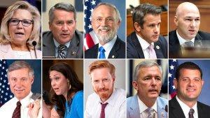 Quiénes son los 10 republicanos que apoyaron el impeachment contra Donald Trump
