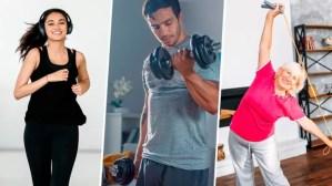 ¿Cuánto ejercicio debes hacer según tu edad? La OMS tiene la respuesta