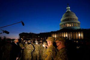 """Washington es convertida en una """"fortaleza"""" a pocos días de la inauguración (FOTOS)"""