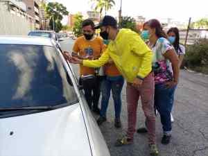 """""""No podemos acostumbrarnos a esta tragedia"""": Primera Justicia en colas por gasolina en Miranda (Fotos)"""