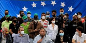 Fuerzas democráticas acompañan a los trabajadores en su lucha contra los salarios de hambre