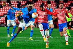 El Granada buscará hacer historia ante el Nápoles en el estadio Diego Armando Maradona