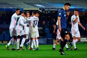 Mendy tumbó al Atalanta y acercó al Real Madrid a cuartos de Champions