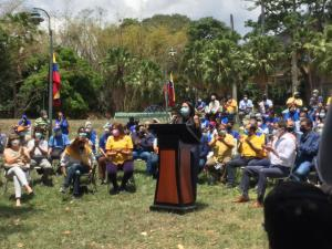 Delsa Solórzano: Más de 40 organizaciones políticas hemos decidido seguir sumando a la unidad