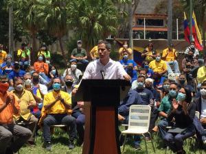 Por encima de nuestras diferencias está recuperar este país: El contundente mensaje de Guaidó ante la Plataforma Unitaria