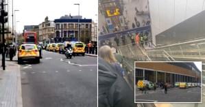 Una estación del metro de Londres fue evacuada tras descubrirse un artículo sospechoso en un tren (VIDEO)