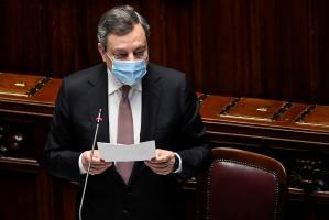 Mario Draghi renuncia a su sueldo como primer ministro de Italia