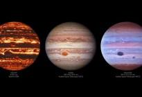 Captan asombrosas imágenes de Júpiter y descubren un aspecto enigmático en su Gran Mancha Roja
