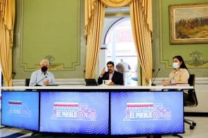 Maduro aceptó negociar con Guaidó ante la vista de facilitadores multilaterales