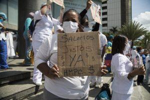 En el Día Internacional de la Enfermería, el gremio protesta a las afueras del Ministerio de Salud #12May (Videos)