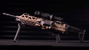 EN VIDEO: Presentan la ametralladora más ligera del mundo