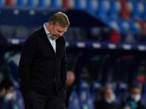 Peligra el futuro de Ronald Koeman en el Barcelona tras el último tropiezo y aparece Xavi Hernández en el horizonte