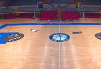 Interrumpen un partido de basket en Israel cuando se activó la alarma por la caída de misiles (VIDEO)