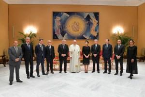 Alberto Fernández habló de la pandemia y de la crisis económica en el Vaticano