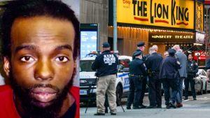 Arrestaron en Florida al sospechoso de la balacera en Times Square que dejó tres heridos