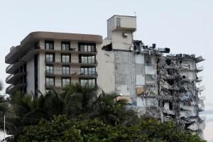 Imágenes devastadoras desde un drone: Así quedó la zona donde estaba el edificio que se derrumbó en Miami