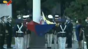 Con la izada de la bandera comenzaron los actos conmemorativos al 200 aniversario de la Batalla de Carabobo (VIDEO)