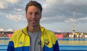 El nadador venezolano Alfonso Mestre se clasifica a las Olimpiadas de Tokio