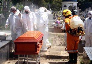 Protección Civil Táchira reportó auge del 300 % en inhumaciones por Covid-19