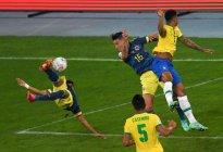 """¿Gol de la Copa? Así fue el BOMBAZO de """"media chilena"""" que le marcó Luis Díaz a Brasil (VIDEO)"""