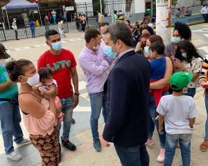 Embajada de Venezuela en Perú realiza jornada de trámites en Tumbes