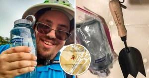 Astuto: Enterró botella de vodka una semana antes del Lollapalooza y la desenterró una vez dentro